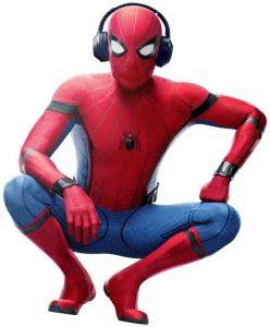 Spiderman Headphones & Earbuds for Kids 1