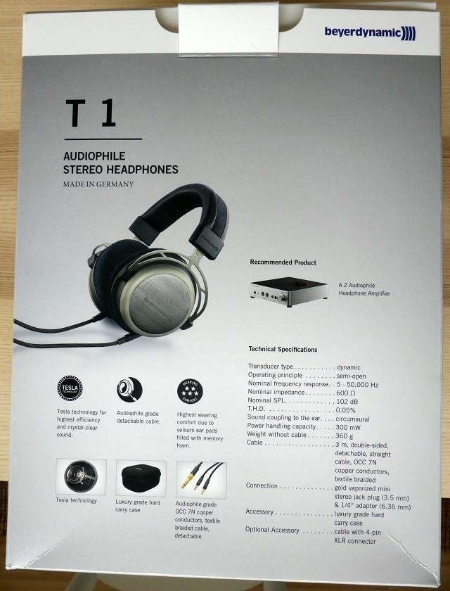 Beyerdynamic T1 Packaging